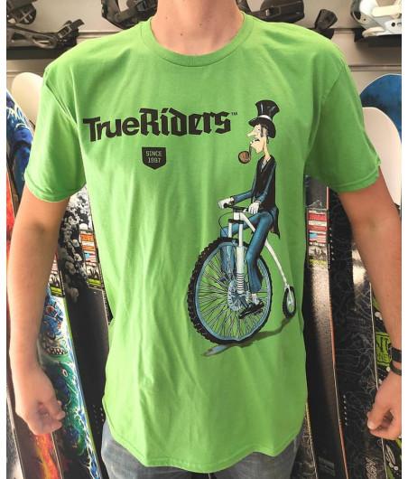 Тениска OLD BIKER - Зелена