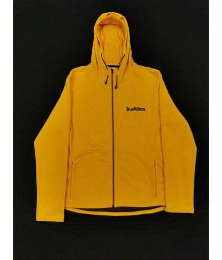 TrueRiders Hoodie - Mustard