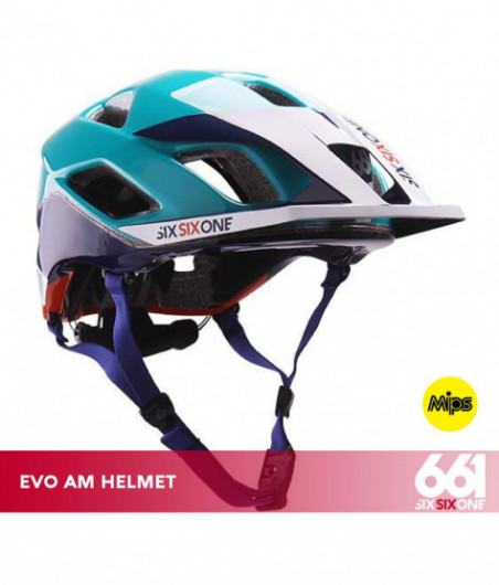 661 EVO AM MIPS CE ORANGE BLUE