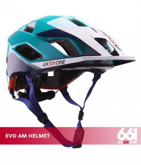 661 EVO AM CE ORANGE BLUE