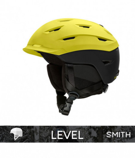 SMITH LEVEL matte Citron Black