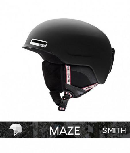 SMITH MAZE matte Black Repeat