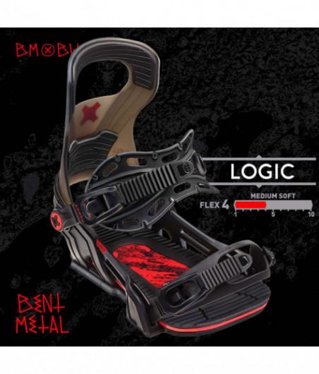 2020 BENT METAL LOGIC Black